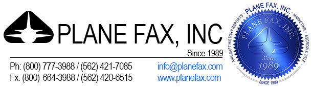 Plane Fax - The Leading Dealer to Dealter Source for the Aviation Industry
